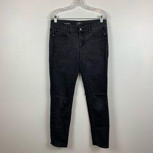 LOFT modern skinny jeans size 29/8